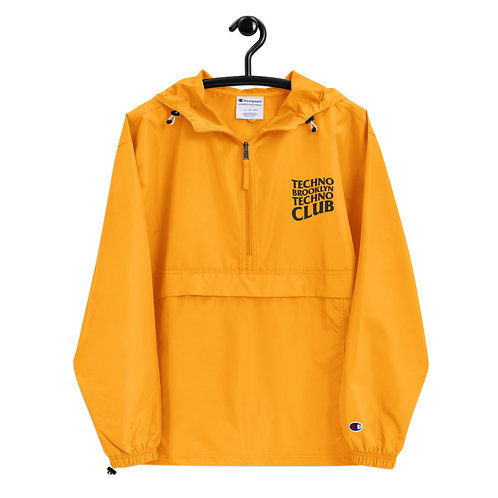 Techno Bklyn Techno Club Windbreaker V2 (Ltd. Edition Gold)