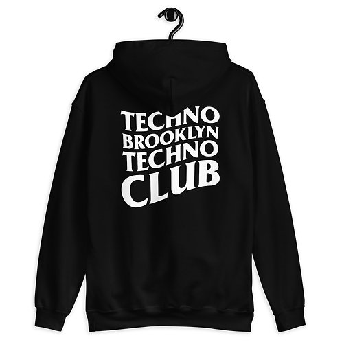 Techno Bklyn Techno Club Hoodie V1