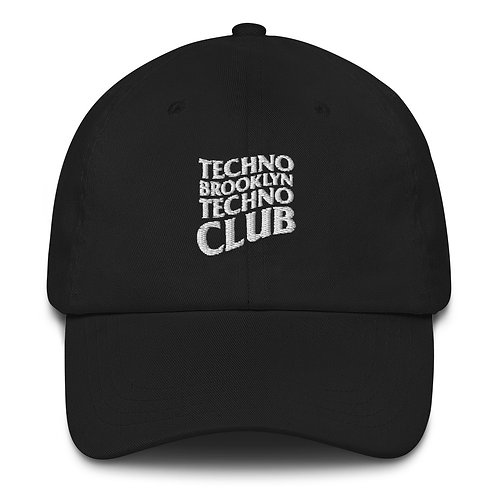 Techno Bklyn Techno Club Dad Hat V1