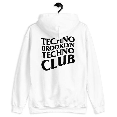 Techno Bklyn Techno Club Hoodie V2