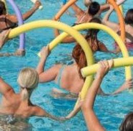 Aquafit pool activities