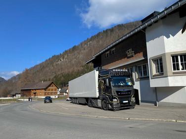 Unser Fahrzeug in Österreich
