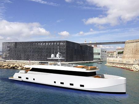 Motor Yacht Cristiano Mariani Architect Marseille