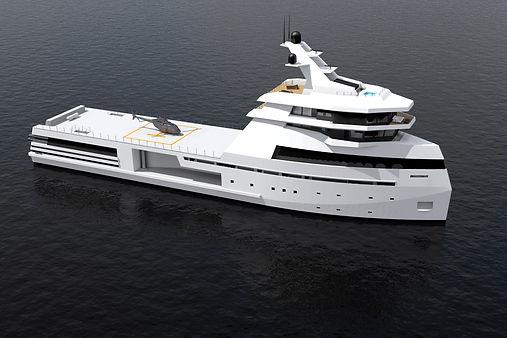 Explorer Yacht 80 Meters Cristiano Mariani