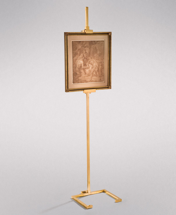 THE STUDIOLO EASEL (BRASS)