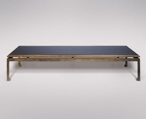 MODERNE GILDED IRON LOW TABLE