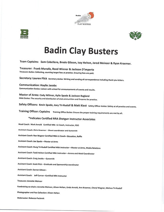2019 Claybusters chain of command.jpg