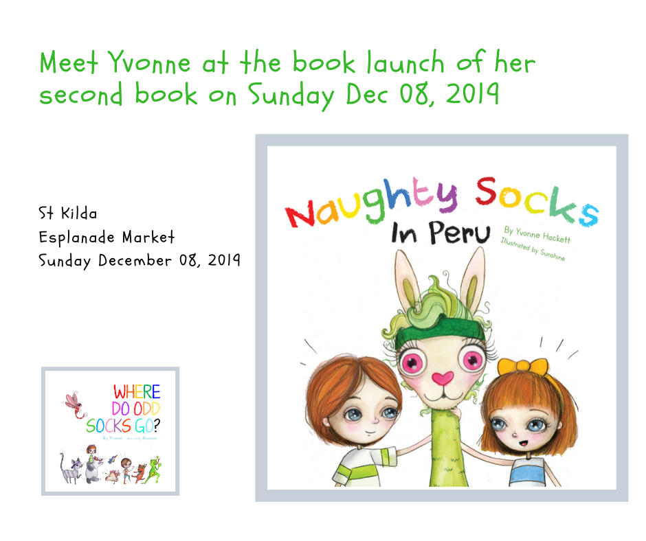 Yvonne releases her second book Sunday Dec 08, 2019 at St Kilda Esplanade Market