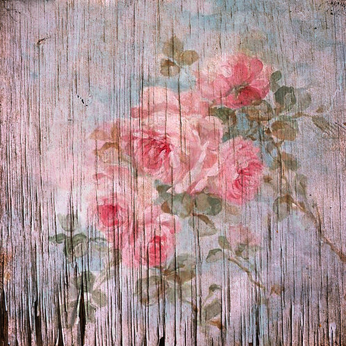 Vintage Rose Decoupage paper