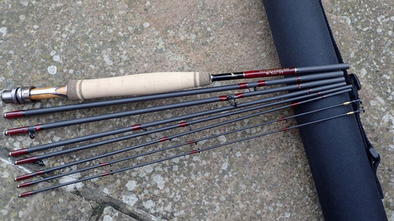 New 7pce travel fly rod for 2019