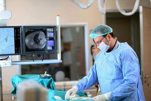 Nöroendokrin tümörlerde minimal invaziv girişimsel tedaviler.