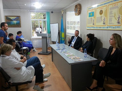PRESENTATION IN ALMATY ONCOLOGY CENTER (3)