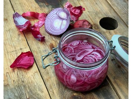 Picklad rödlök - mycket enklare än du tror!