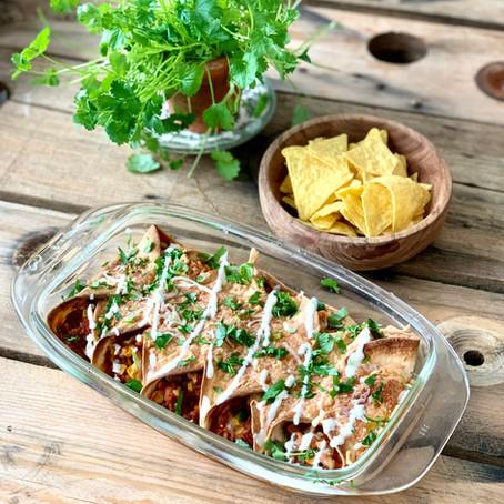 Temp:ish Enchiladas - Mexican Style