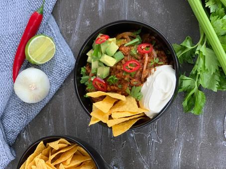 Mexicansk gryta med öl och nacho - Temp:ish Mexican Style