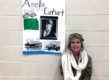 Berean Academy 3rd Graders Host Wax Museum