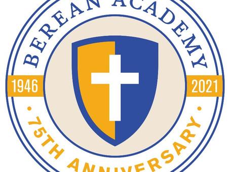Berean Announces 75th Anniversary Activities