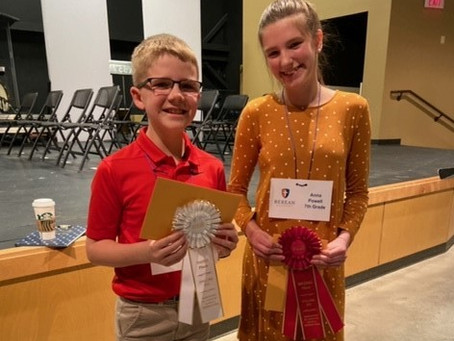 ACSI District Spelling Bee Results