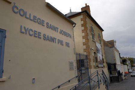 Intervention & Convention au lycée Saint Pierre de Cusset