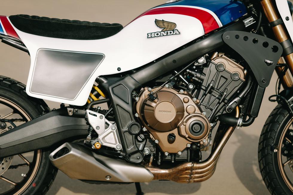 HONDA CB 650 R Tracker