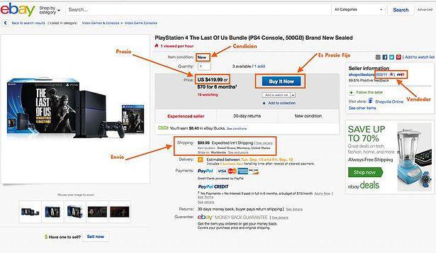Comprar por internet ebay
