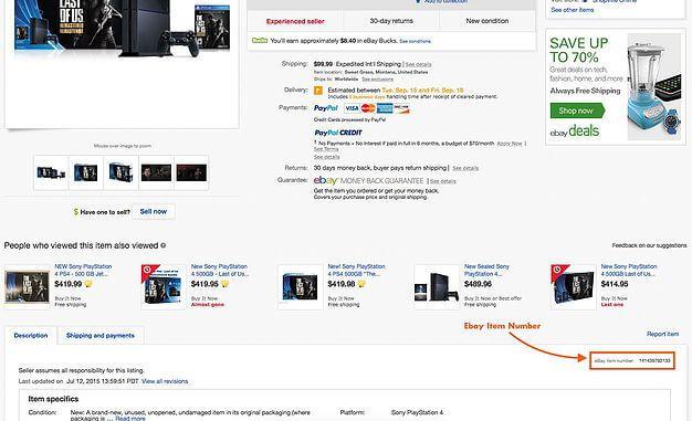 Compras por internet ebay