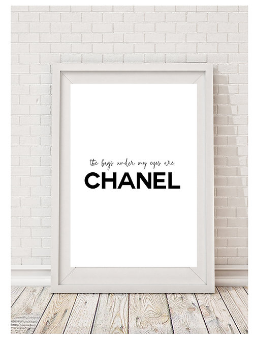 Chanel Digital Download Print