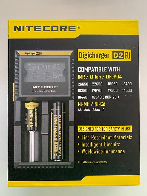 Digicharger D2EU - Nitecore