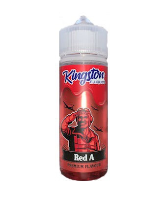 Red A 100ml - Kingston E-Liquid 100ml
