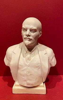 Bisque Porcelain Bust of Lenin