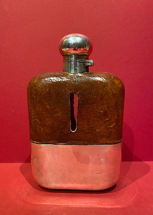 Late Victorian Hip Flask
