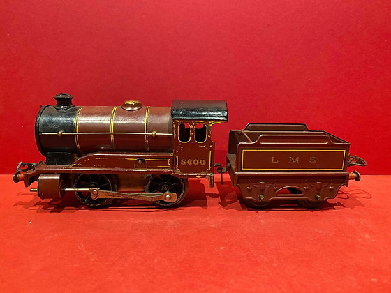 Tin-Plate Hornby Clockwork Locomotive