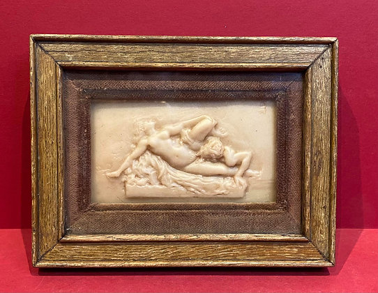 Early 19th Century Erotic Wax Relief