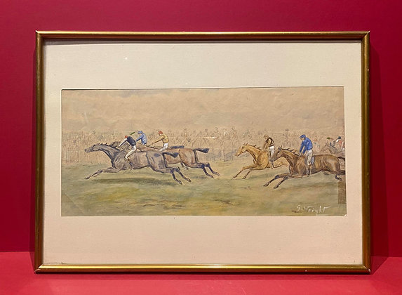 Early 20th Century Derby Watercolour