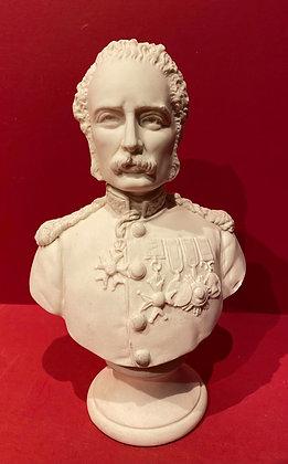 1884 Parian Bust of General Gordon