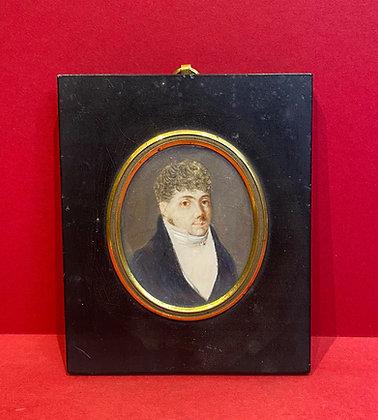 Regency Portrait Miniature