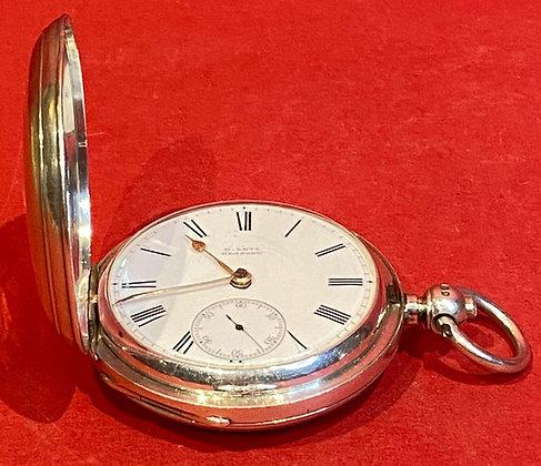 Silver Victorian Pocket Watch