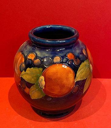 Moorcroft Pomegranate Globe Vase