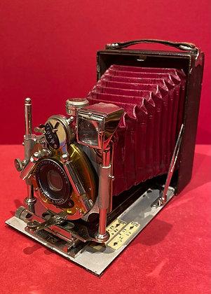 Burgundy Bellows Camera
