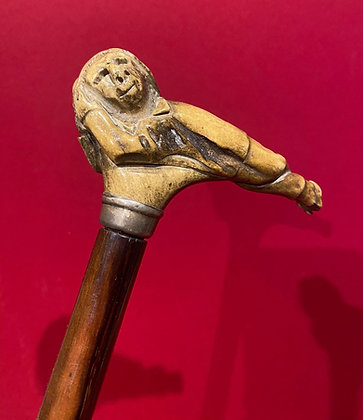 Victorian Gentleman's Cane with Sleeping Dwarf Handle