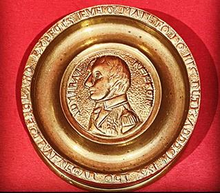 Bronze 1805 Nelson Box
