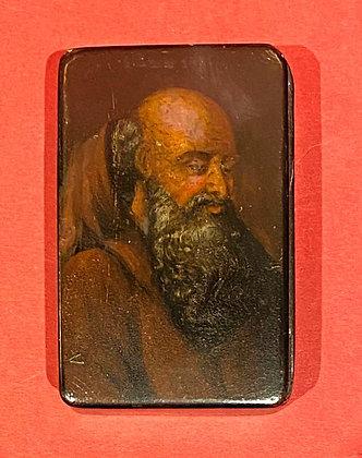 Early 19th Century Papier Mache Snuff Box