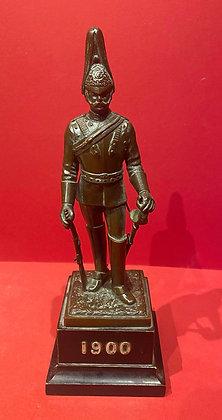 Bronze Figure of Household Cavalry
