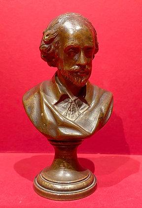 Miniature Bronze of Shakespeare
