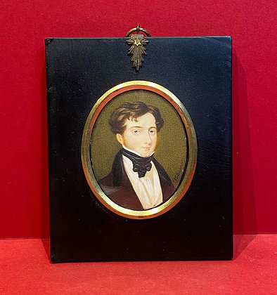 Portrait Miniature of Gentleman