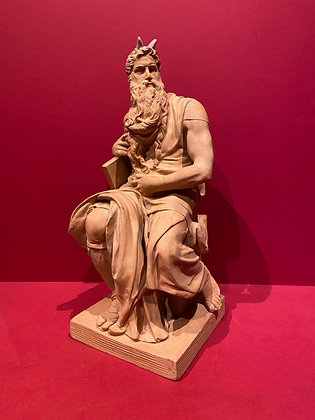 Terracotta Figure of Moses