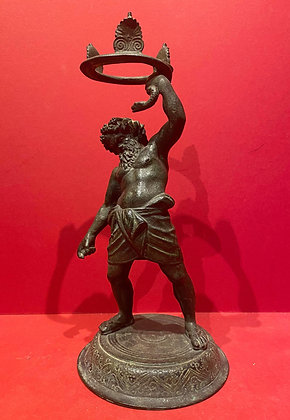 Classical Bronze Figure of Silenus