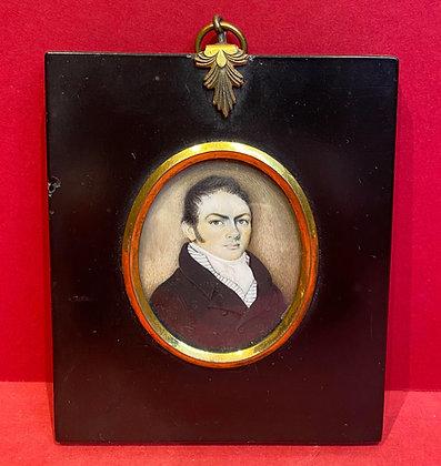 Regency Gentleman Portrait Miniature