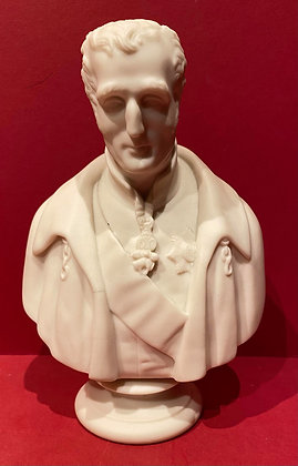 1850 Bust of  The Duke of Wellington