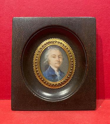 Fine Georgian Portrait Miniature